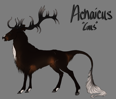 Achaicus by meganeffingsandbox