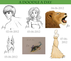 A Doodle A Day Dump 1 by Kiruel