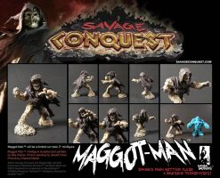 Savage Conquest Minifigure promo by ChrisFaccone