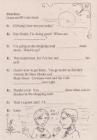 Worksheet - Directions Review by ACGalaga