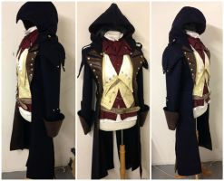 Arno Dorian - Assassins Creed - Costume progress by ImaginaryCostume
