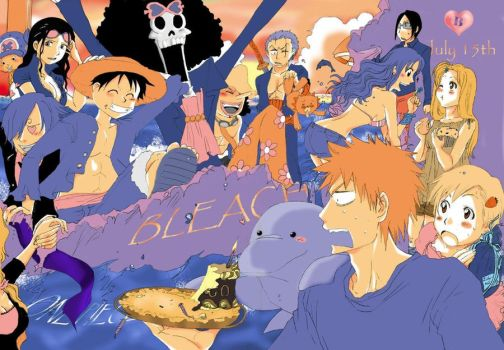 Bleach on peace / July 15th by Blychee