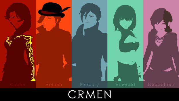 CRMEN (Our Favourite Antagonists) Wallpaper by DanTherrien101