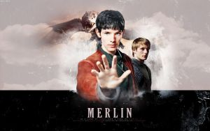 his name... Merlin by daydream-x