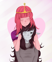 PB and marceline by rodiamg
