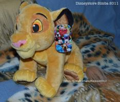 Disneystore Medium Simba - TLK by MoondragonEismond