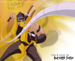 Mortal Kombat. Scorpion by ButcherSonic