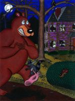 The Creepy House of Paw Valley by WalterRingtail