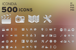 500 Icons - Iconidia by SloorpWorld
