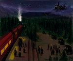 first arriving in Hogwarts by radioactivated