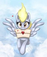 MLP FIM - Derpy's Love Delivery by Joakaha
