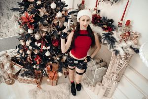 Christmas Lara Croft - Happy holidays! by TanyaCroft