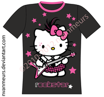 Hello Kitty T-Shirt [Front] by nvanmeurs