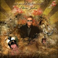 """Elton John """"The Lion King"""" by AngelicBond"""