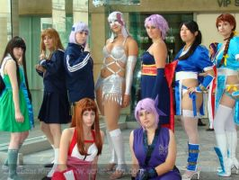 DoA group cosplay by animeadict