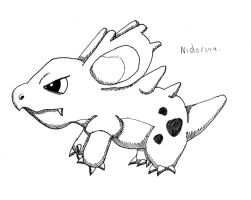 Nidorina by Carlie-NuclearZombie
