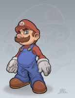 It's a me: Mario by Chadwick-J-Coleman