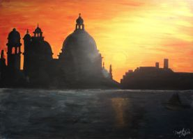Sunset in Venice by kjhsdf