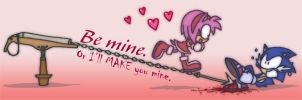Sonic's 2012 Valentine by Tigerfog