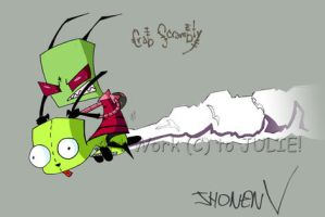Invader ZIM by peepthestyle