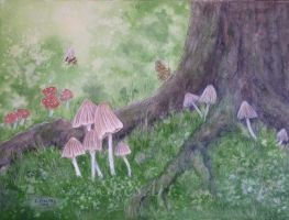Home of the Fungi. by SueMArt