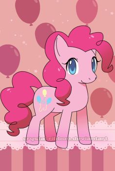 Pinkie Pie by Crystal-Ribbon