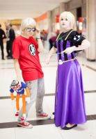 Homestuck: Blond kids by RenareValross