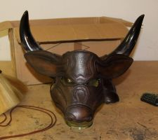 Minotaur Mask by Azmal