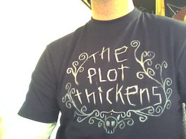 the plot thickens shirt by grundlos