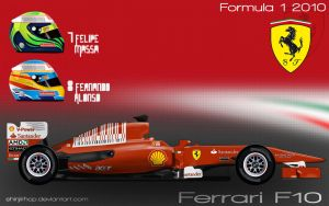 Ferrari F10 by ShinjiRHCP