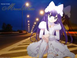 Wallpaper: Moon Phase by noxiousbunny