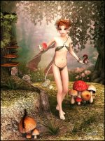 Wildfairy Foraging by LillithI