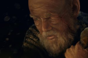 Photo Study 32 - Old Man by Zeon1309