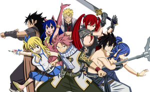 Fairy Tail Guild by JasmineBlack