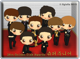 Super Junior at GDA by flyinfLa