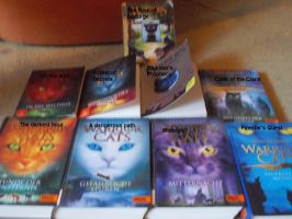 Warrior Cats ~ My Books by MrsEmilySeville