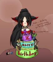 Cake from No Bake :3 by Ribonessica
