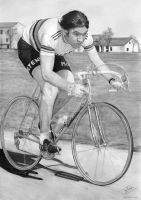 Eddy Merckx Drawing by jamesdean123