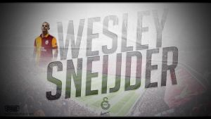 Wesley Sneijder Wallpaper by EsegaGraphic