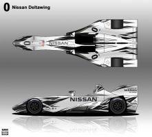 Nissan Deltawing ALMS by hanmer