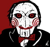 Jigsaw from Saw by ladyjart