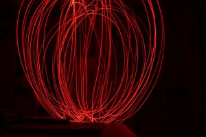 Lightpainting Red Bowl by YunakiDraw