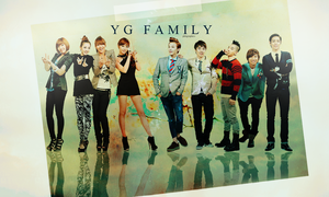 2NE1 and BIGBANG Wallpaper by PKHRocks