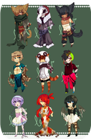 [ o p e n ] random nine batch by beatAdopts