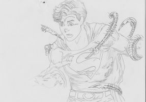 Superboy tentacled by connie866