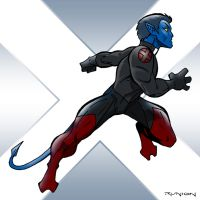 X-Factor: Nightcrawler by arunion