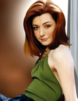 Alyson Hannigan by frostdusk