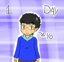 30 days drawing challenge - Day 1 yourself by animetomodachi