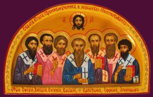 Seven Martyrs bishops of Chersonesus by yellika