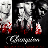 Nicki Minaj - Champion CD COVER by GaGanthony